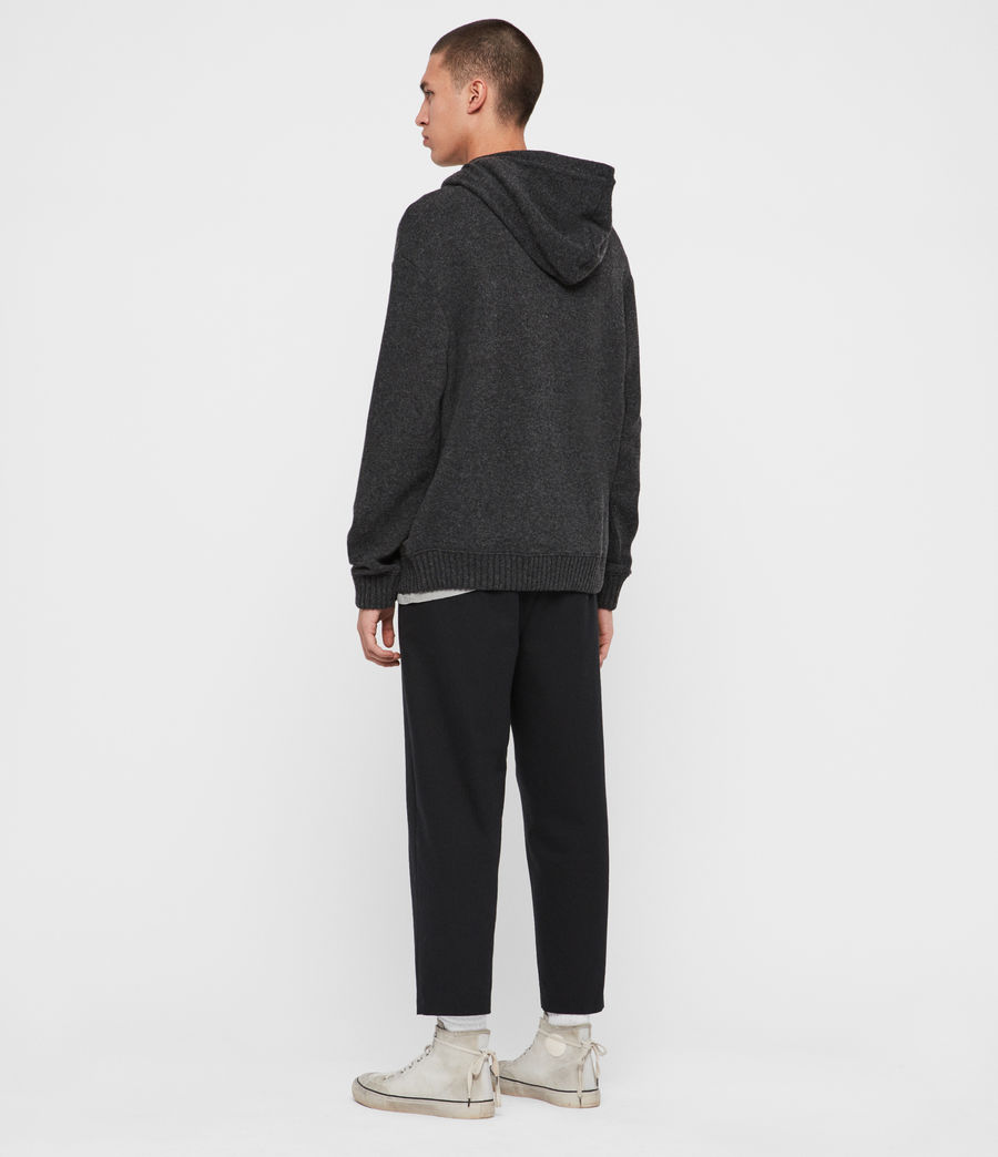 Men's Jethro Pullover Hoodie (charcoal_marl) - Image 5