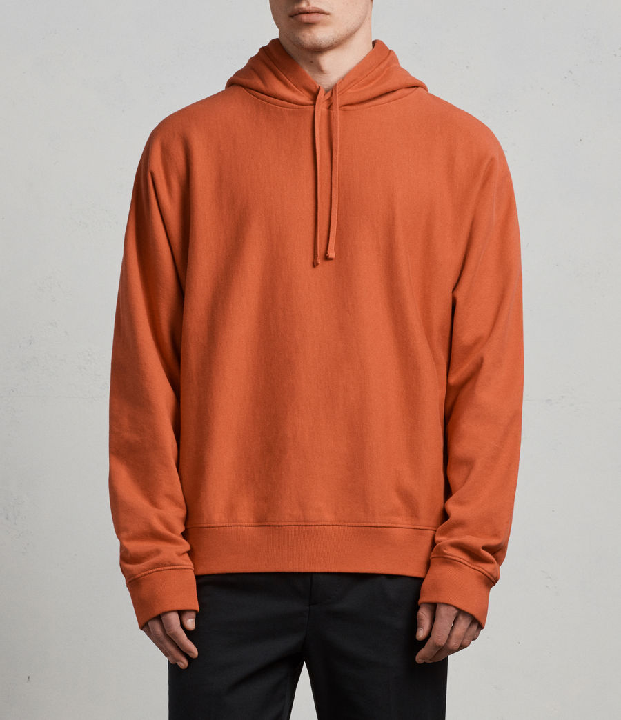 Men's Gethian Pullover Hoody (red) - Image 1