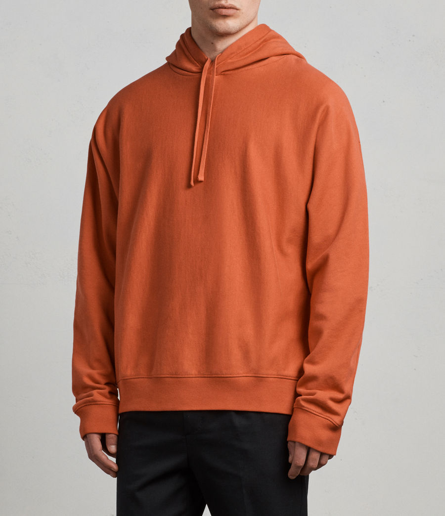 Men's Gethian Pullover Hoody (red) - Image 3