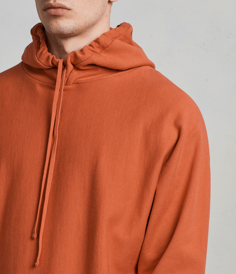 Men's Gethian Pullover Hoody (red) - Image 4