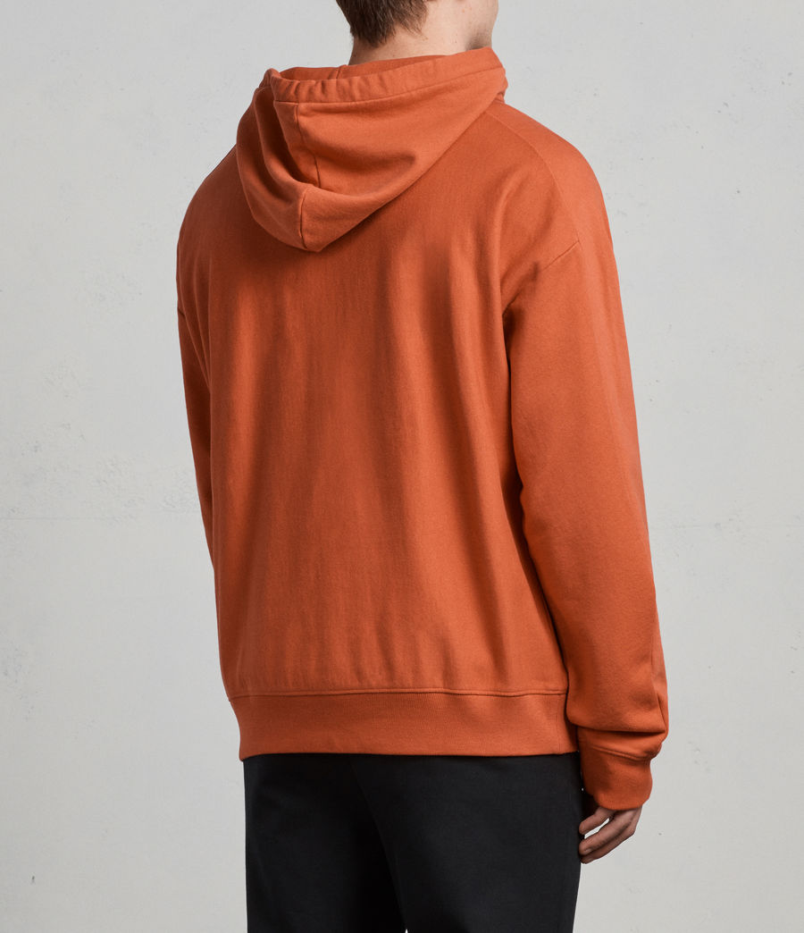 Men's Gethian Pullover Hoody (red) - Image 5