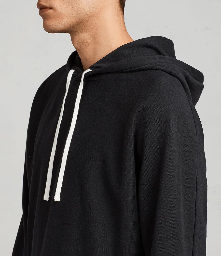 Men's Gethian Pullover Hoody (black) - Image 2