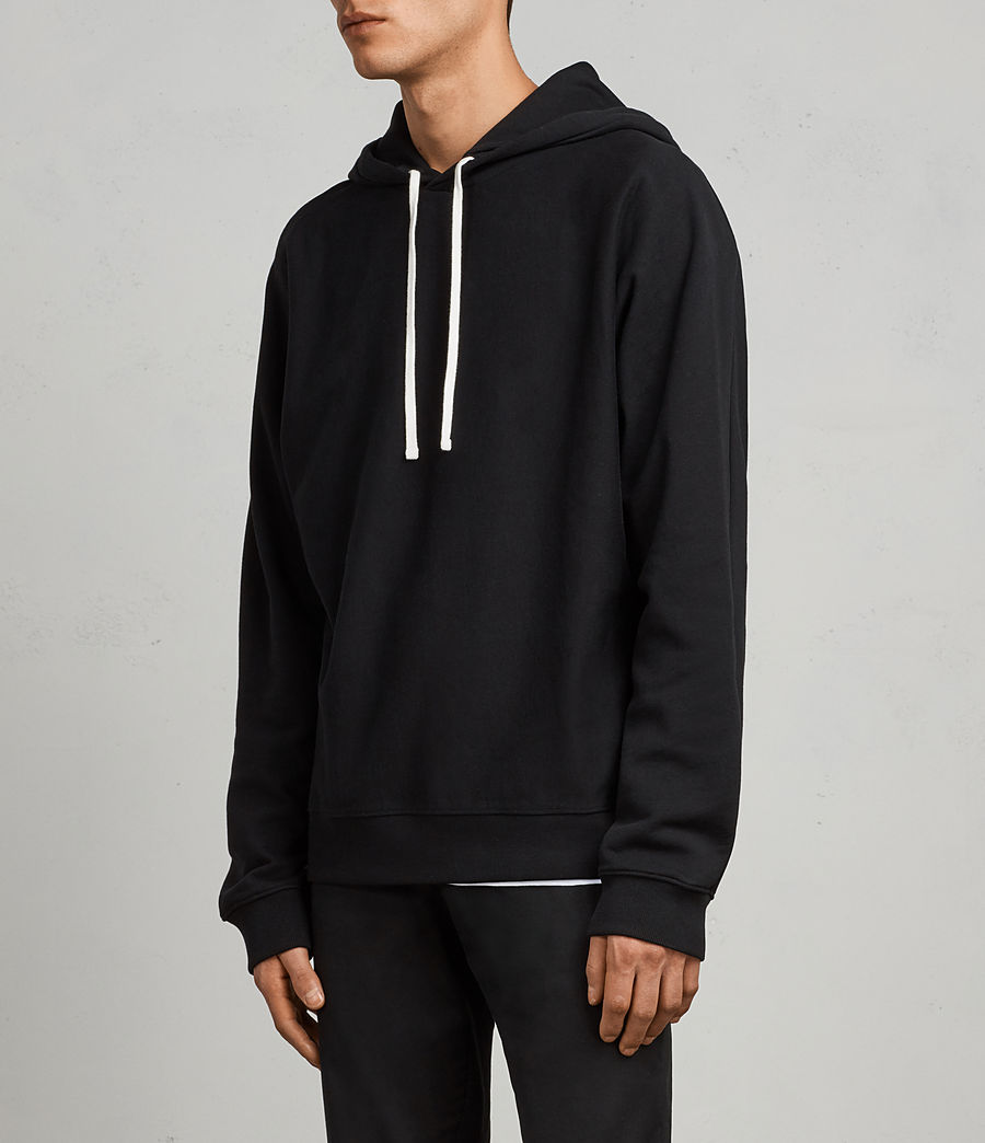 Men's Gethian Pullover Hoody (black) - Image 3