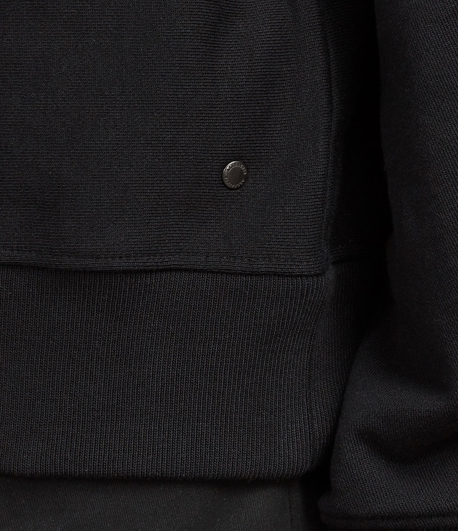 Men's Gethian Pullover Hoody (black) - Image 4