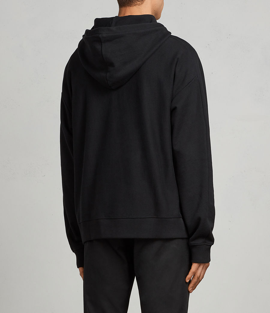 Men's Gethian Pullover Hoody (black) - Image 5