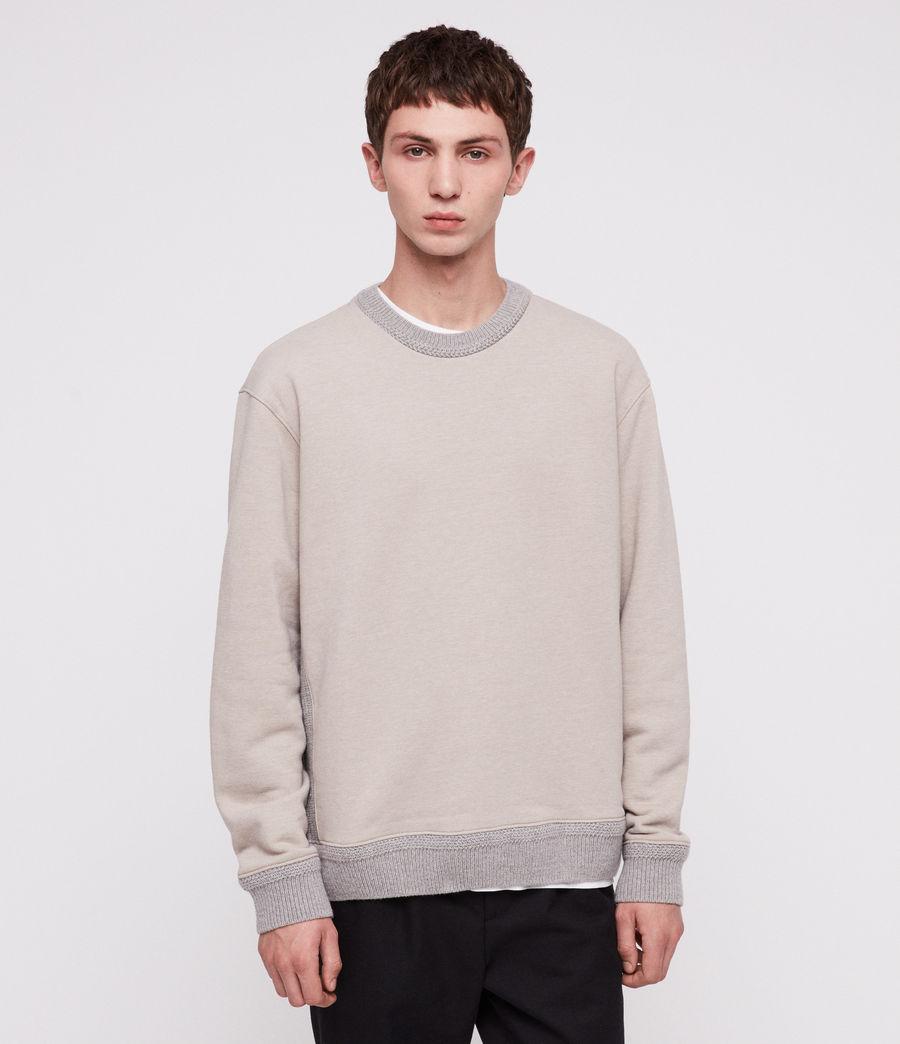 Herren Senior Pullover (oat_marl) - Image 1