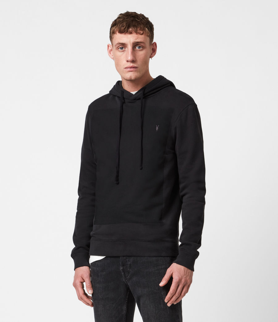 Men's Lobke Pullover Hoodie (washed_black) - Image 1