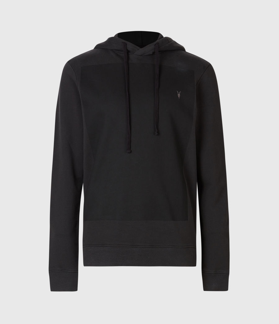 Men's Lobke Pullover Hoodie (washed_black) - Image 2