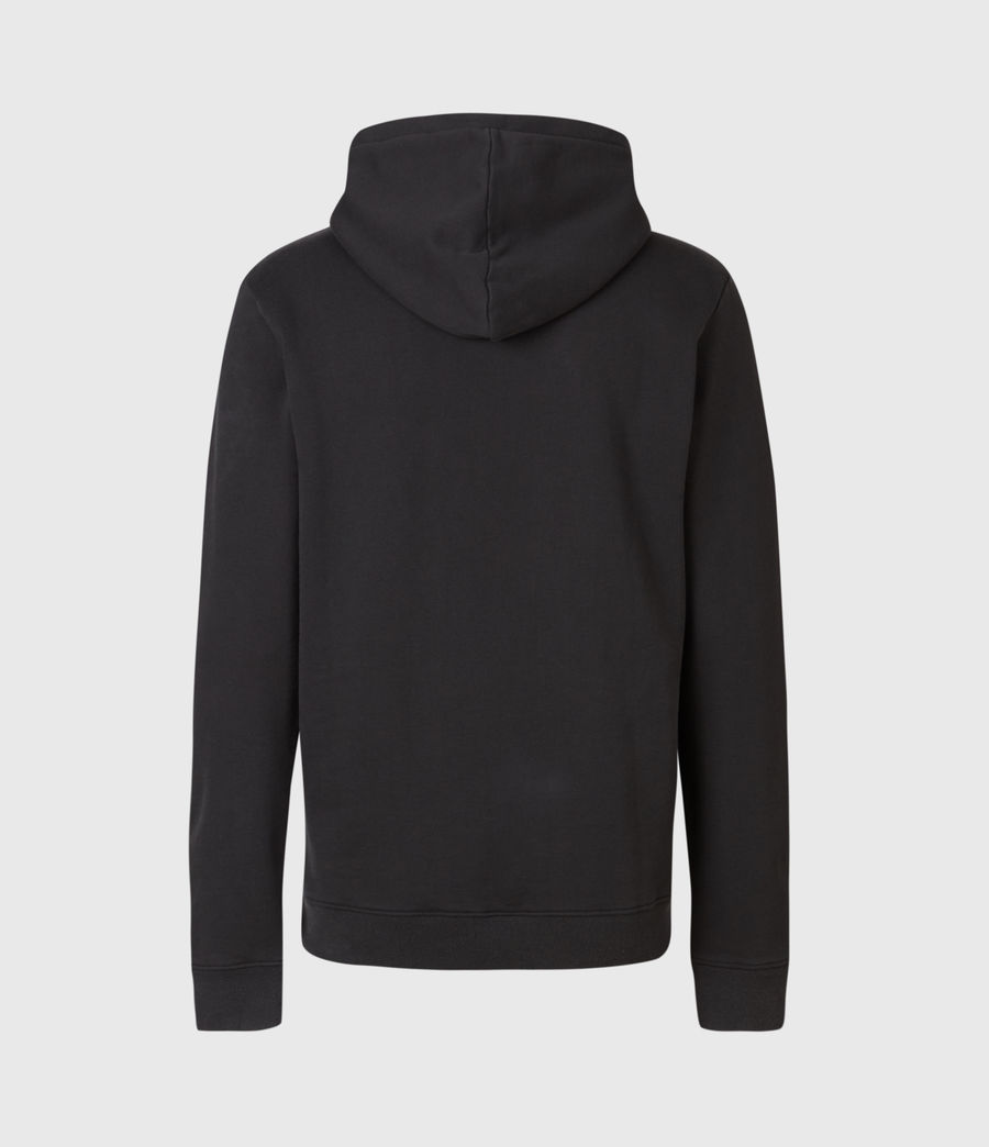 Men's Lobke Pullover Hoodie (washed_black) - Image 3