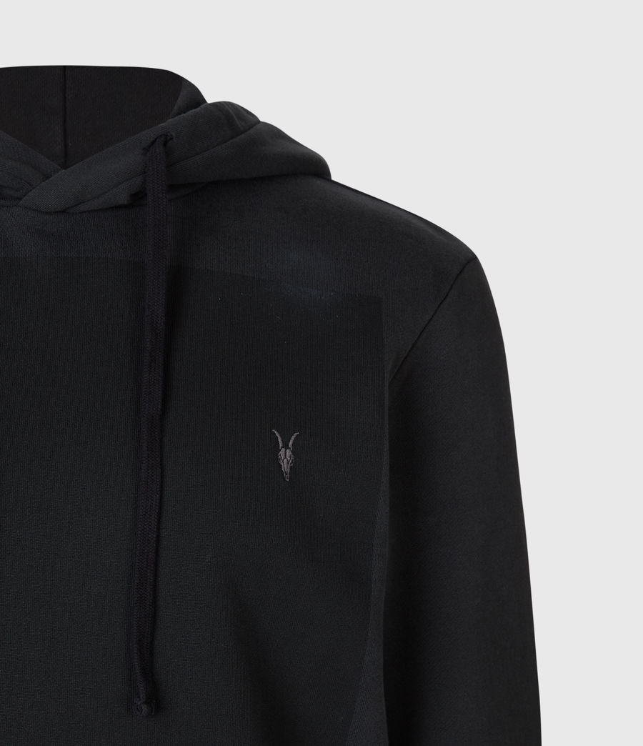 Men's Lobke Pullover Hoodie (washed_black) - Image 5