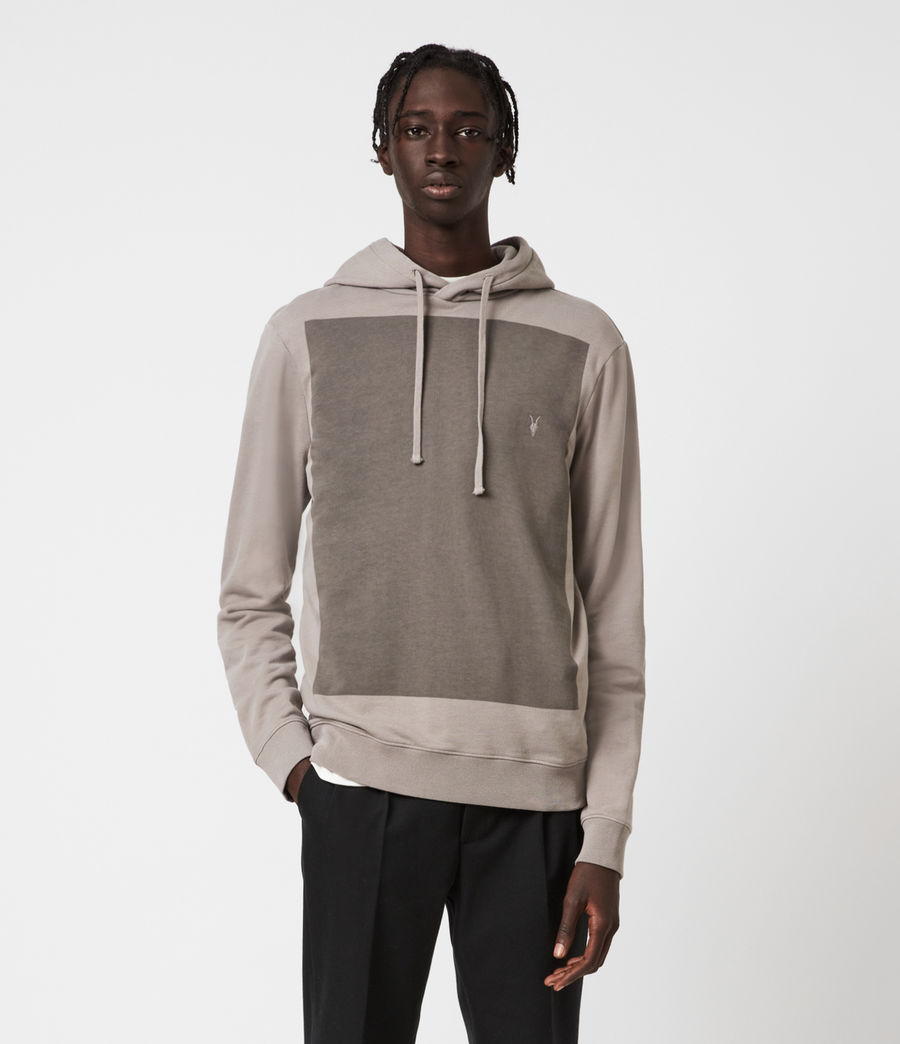 Men's Lobke Pullover Hoodie (putty_grey) - Image 2