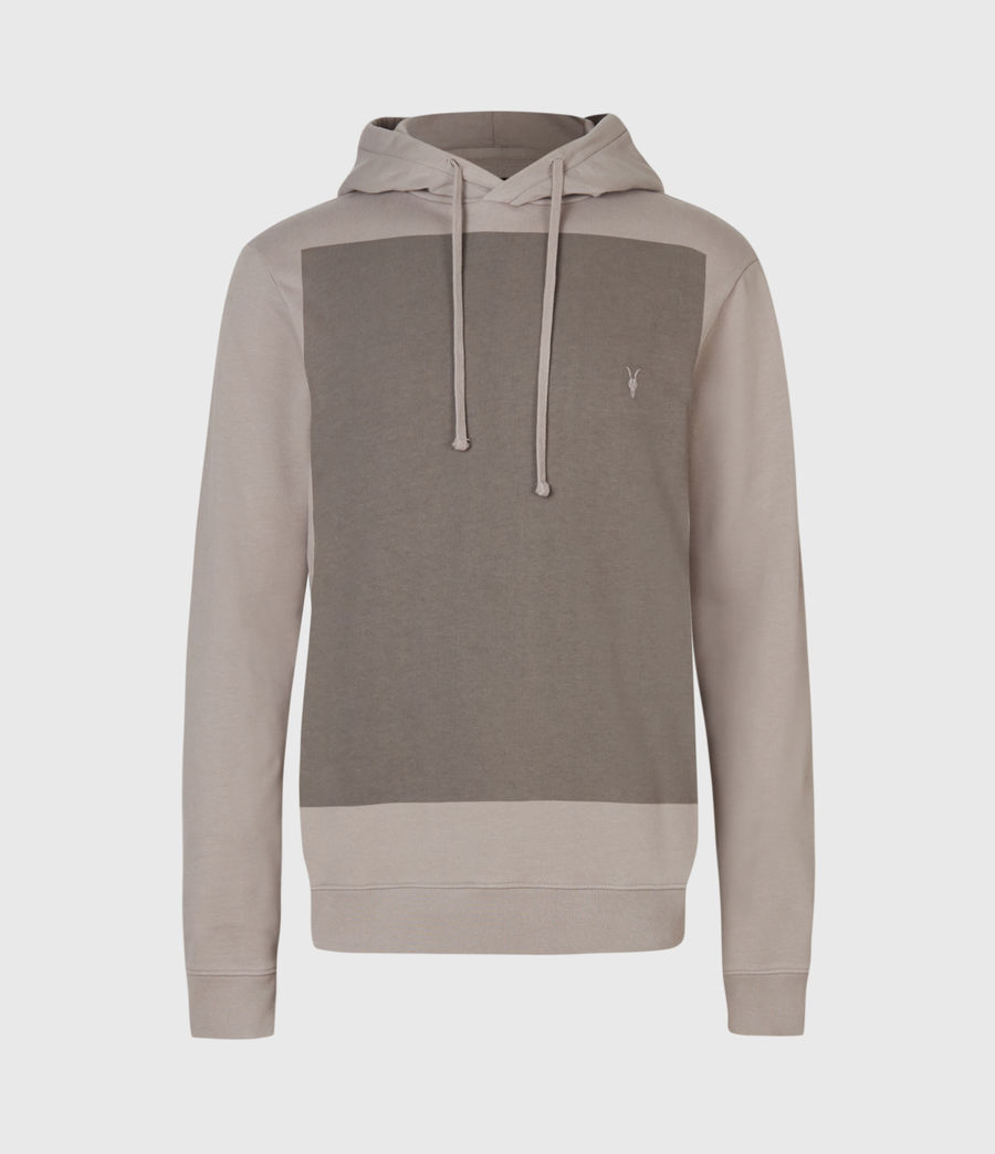 Men's Lobke Pullover Hoodie (putty_grey) - Image 3