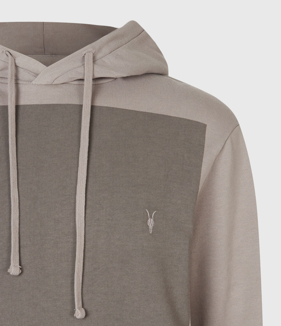 Men's Lobke Pullover Hoodie (putty_grey) - Image 1