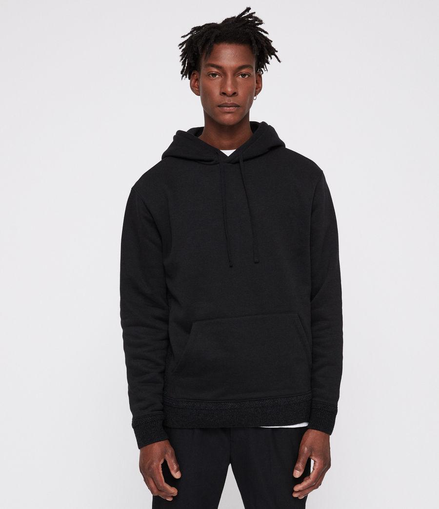 Mens Senior Hoodie (black) - Image 1