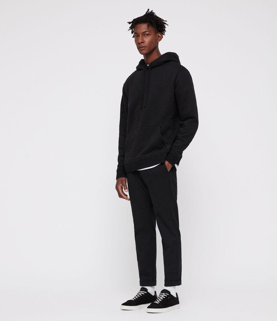 Mens Senior Hoodie (black) - Image 2