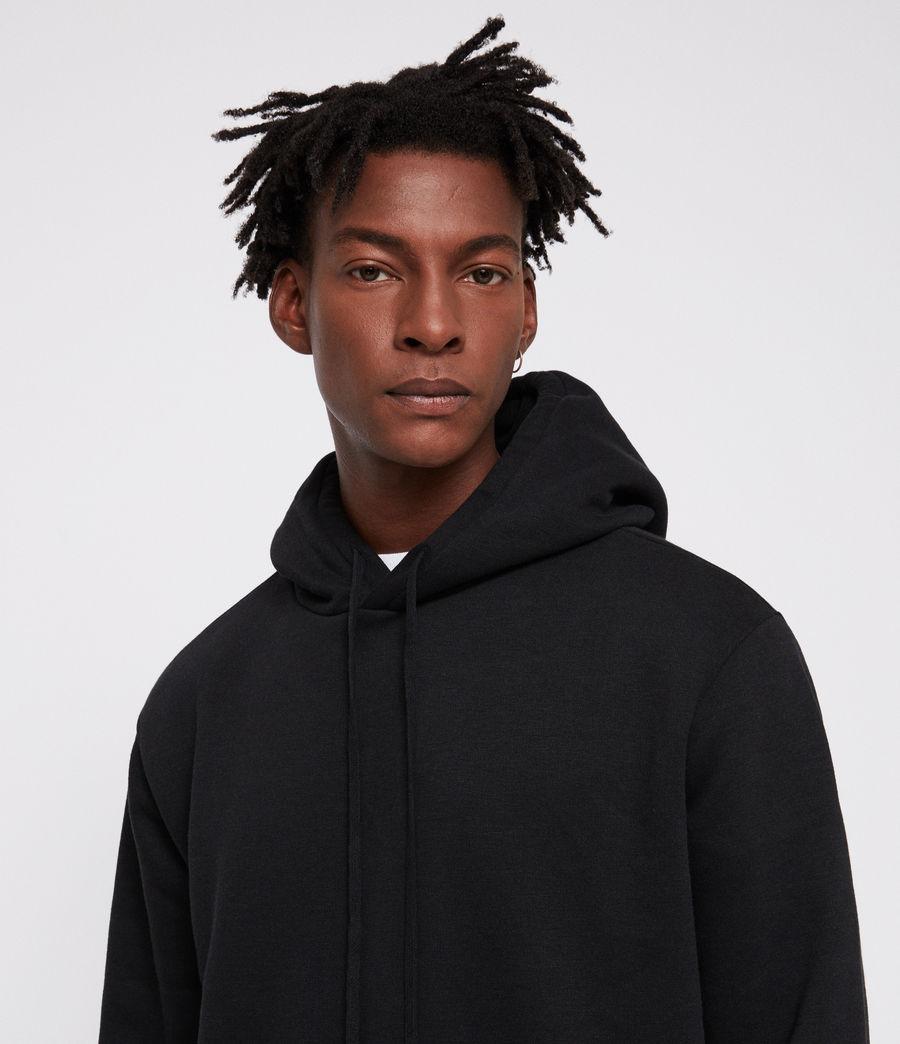 Mens Senior Hoodie (black) - Image 4