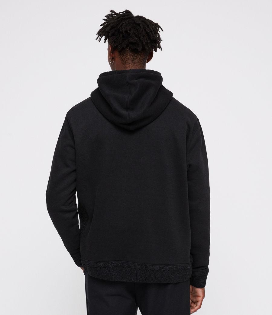Mens Senior Hoodie (black) - Image 5