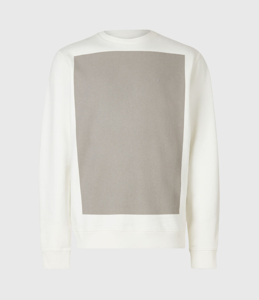 Men's Lobke Crew Sweatshirt (white) - Image 2