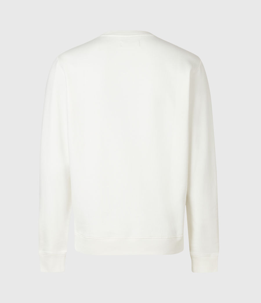 Men's Lobke Crew Sweatshirt (white) - Image 3