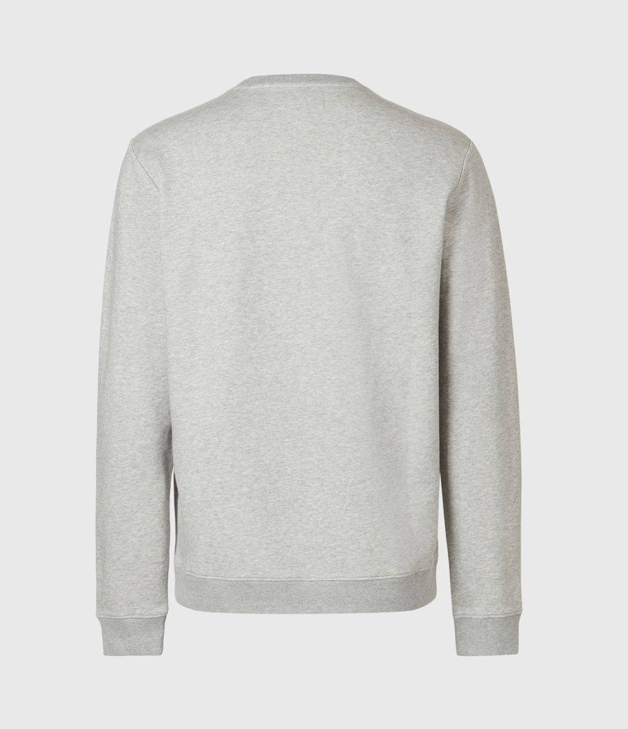Mens Lobke Crew Sweatshirt (grey_marl) - Image 3