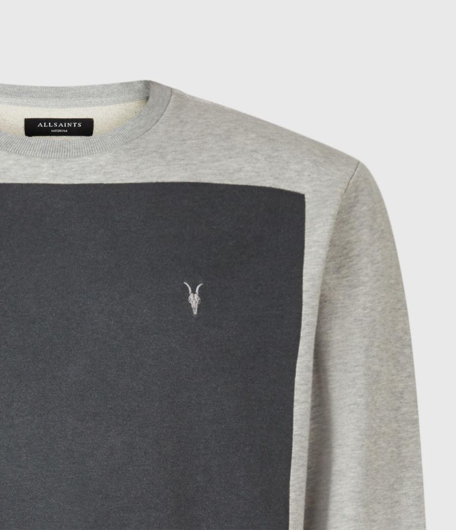 Mens Lobke Crew Sweatshirt (grey_marl) - Image 4