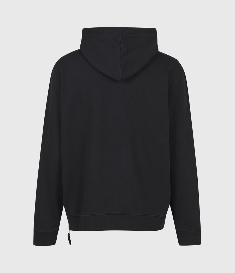 Men's Tulum Pullover Hoodie (jet_black) - Image 3