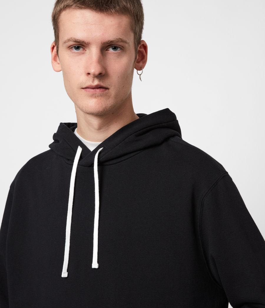 Men's Tulum Pullover Hoodie (jet_black) - Image 4