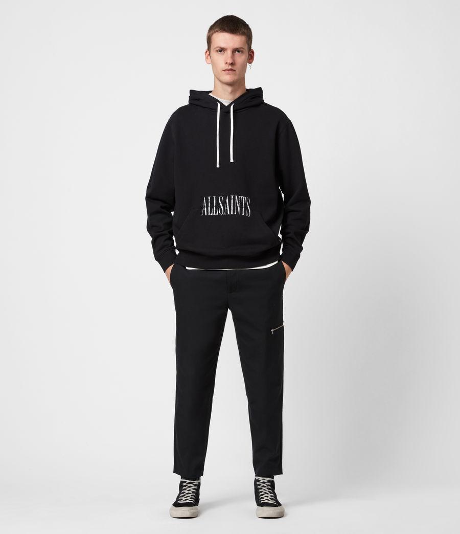 Men's Tulum Pullover Hoodie (jet_black) - Image 8