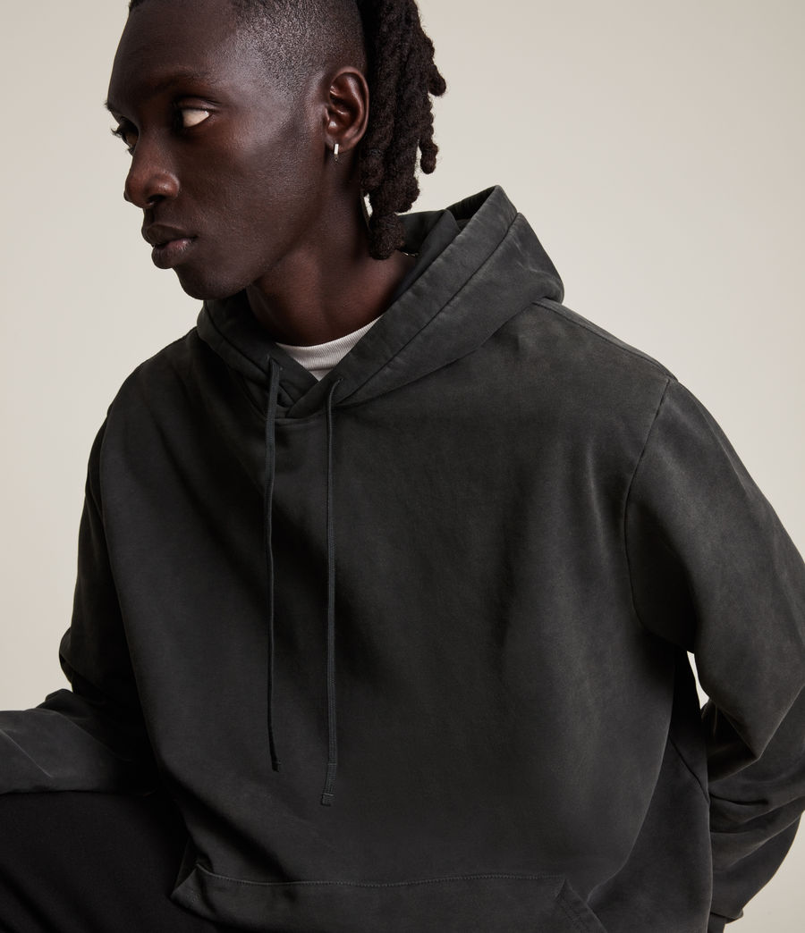 Hommes Roswell Pullover Hoodie (washed_black) - Image 2
