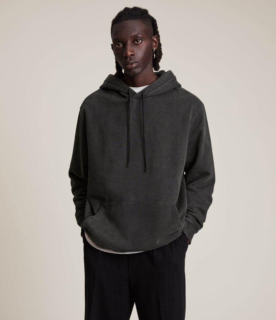 Hommes Roswell Pullover Hoodie (washed_black) - Image 3