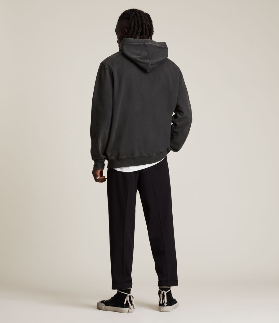 Hommes Roswell Pullover Hoodie (washed_black) - Image 5
