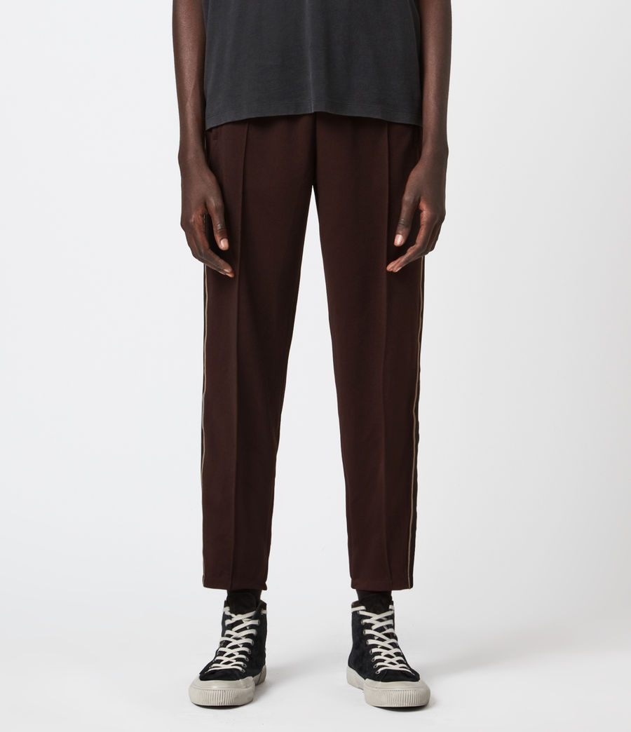Mens Jasper Straight Sweatpants (dark_garnet) - Image 1