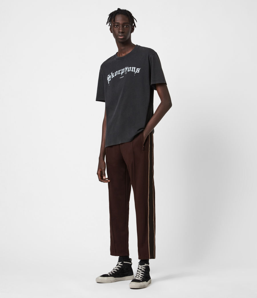 Mens Jasper Straight Sweatpants (dark_garnet) - Image 4