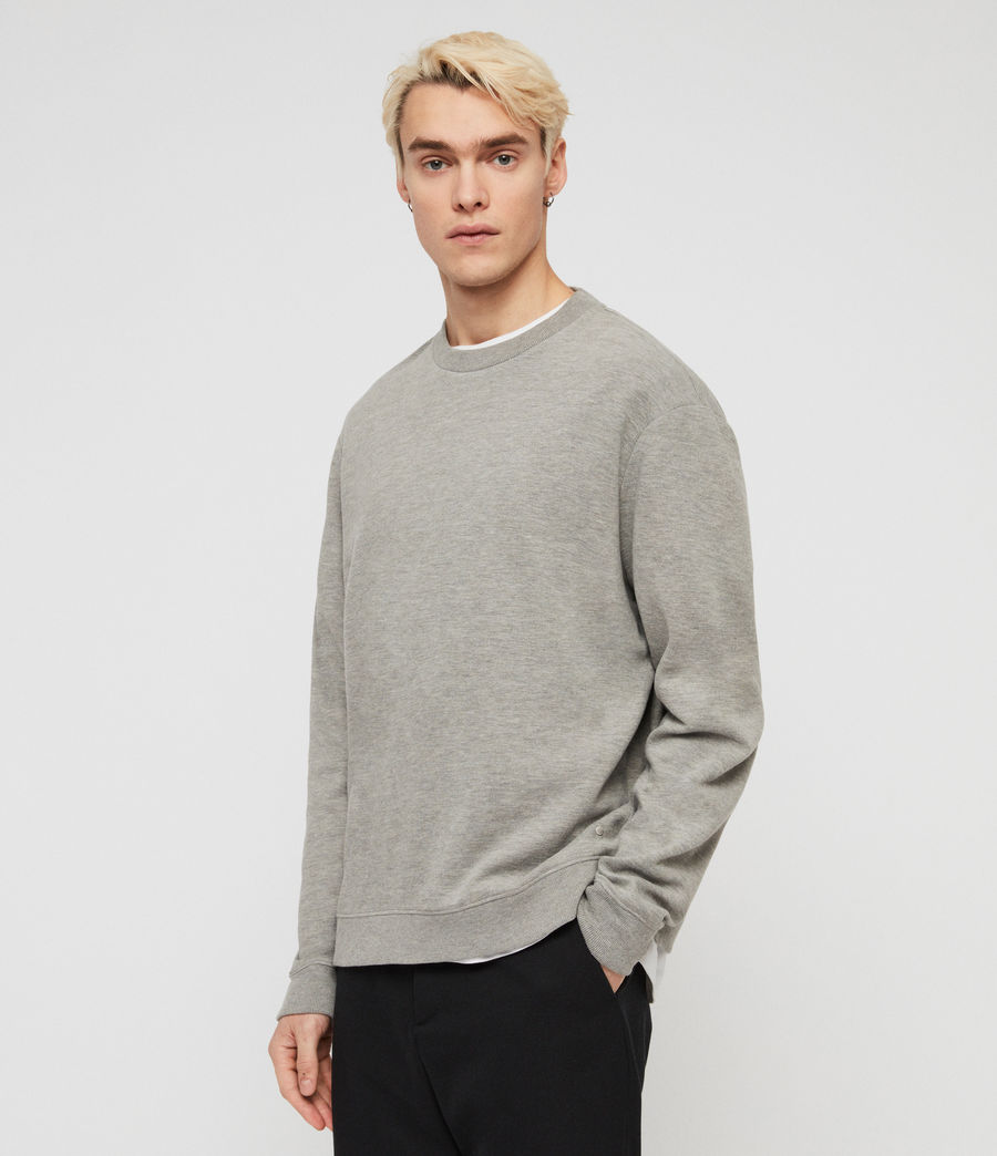 Hommes Sweat Gaiety (grey_marl) - Image 1