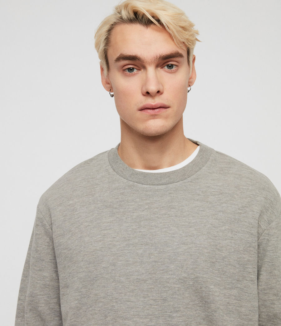 Hommes Sweat Gaiety (grey_marl) - Image 2