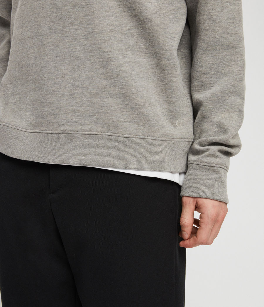 Hommes Sweat Gaiety (grey_marl) - Image 5