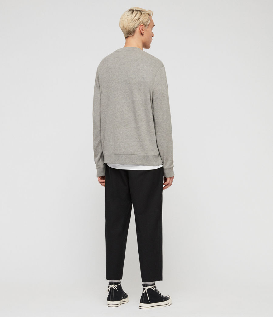 Hommes Sweat Gaiety (grey_marl) - Image 6