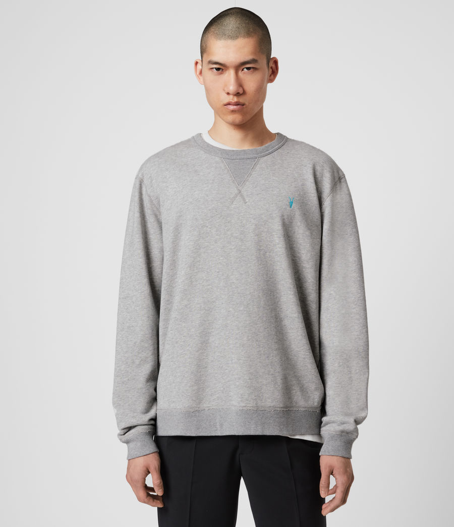 Mens Phoenix Crew Sweatshirt (grey_marl) - Image 1