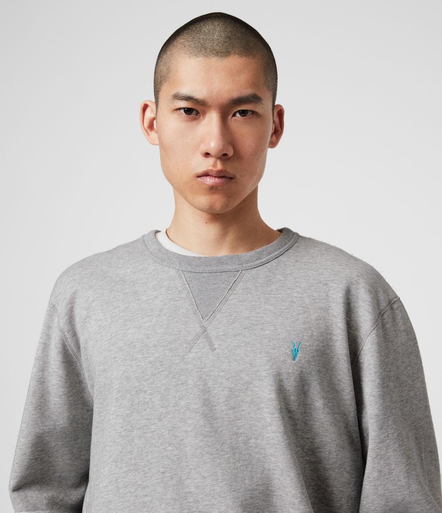 Mens Phoenix Crew Sweatshirt (grey_marl) - Image 2