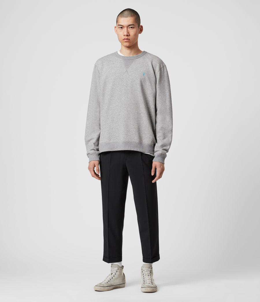 Mens Phoenix Crew Sweatshirt (grey_marl) - Image 3