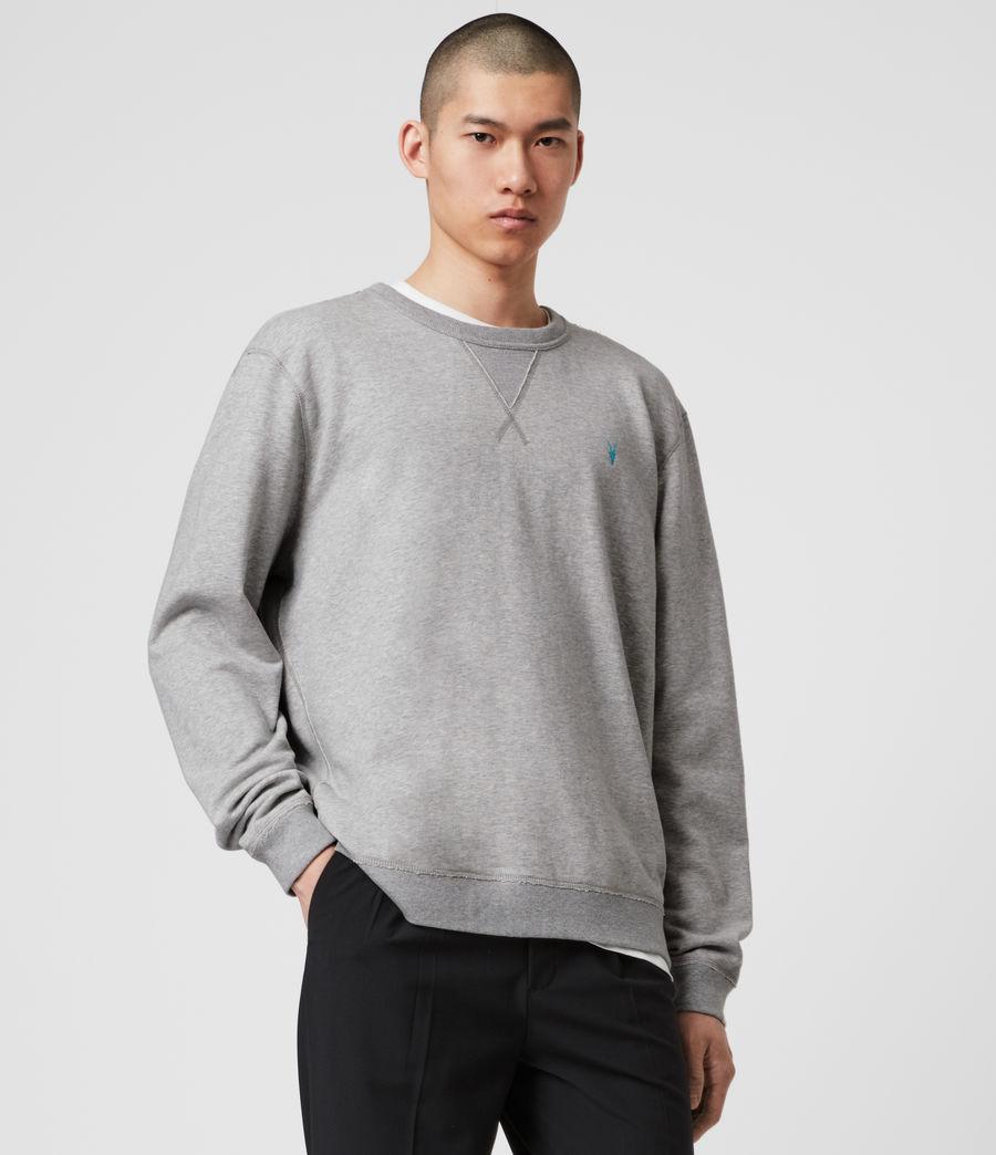 Mens Phoenix Crew Sweatshirt (grey_marl) - Image 4