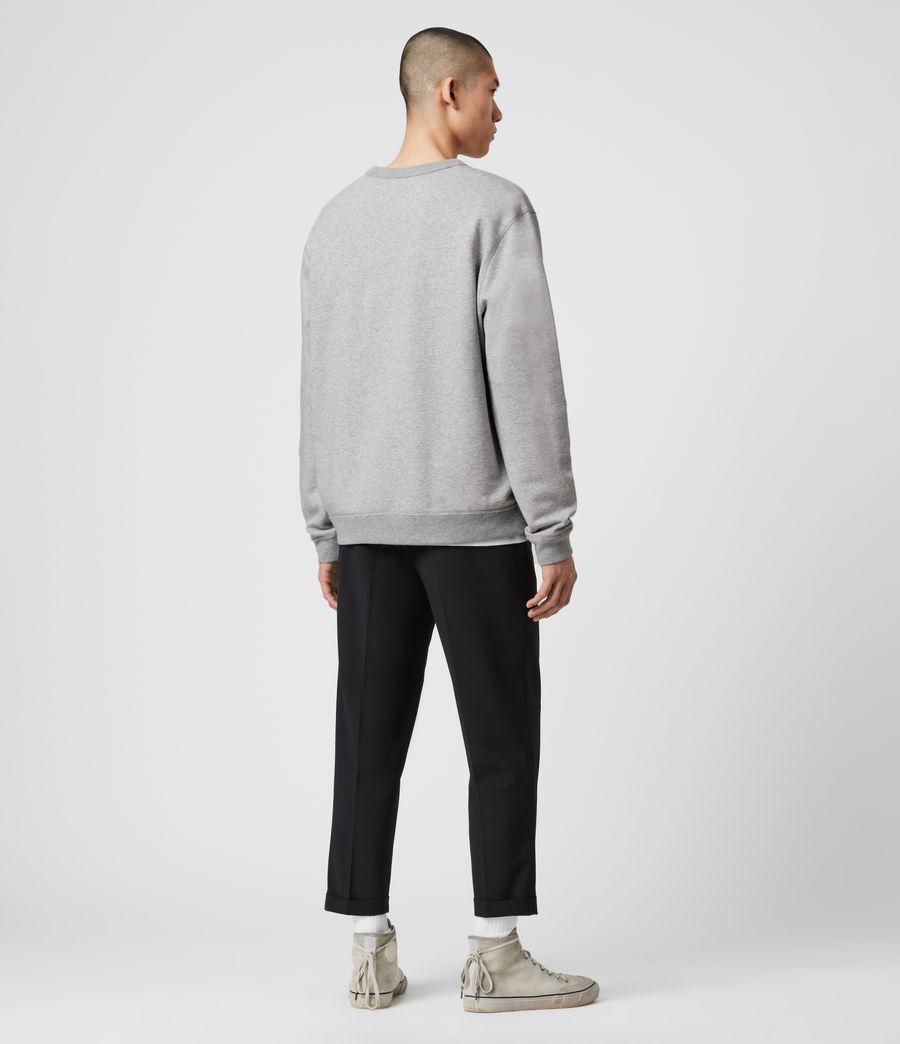 Mens Phoenix Crew Sweatshirt (grey_marl) - Image 5