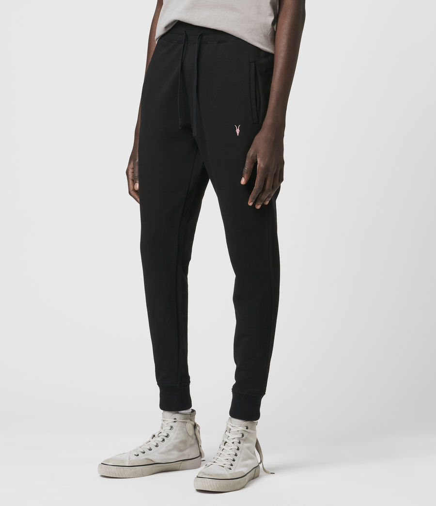 Hommes Phoenix Cuffed Slim Sweatpants (jet_black) - Image 4
