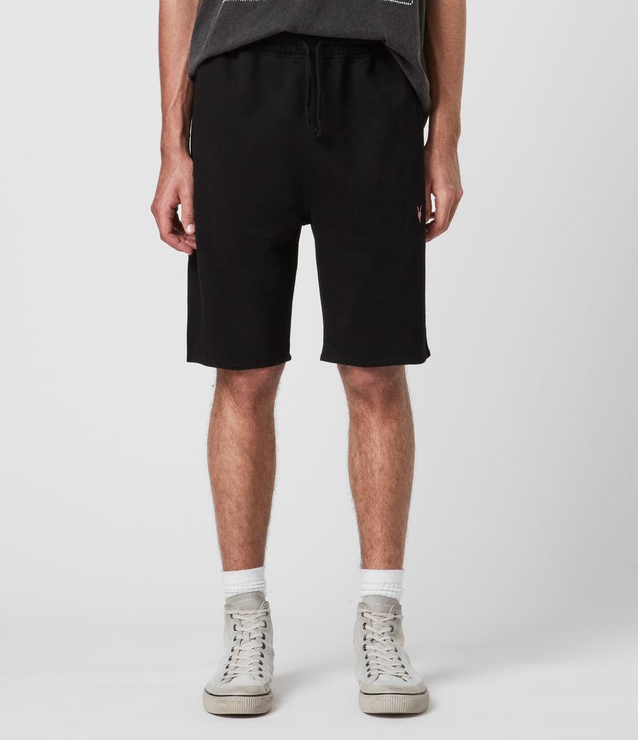 Mens Phoenix Sweat Shorts (jet_black) - Image 1
