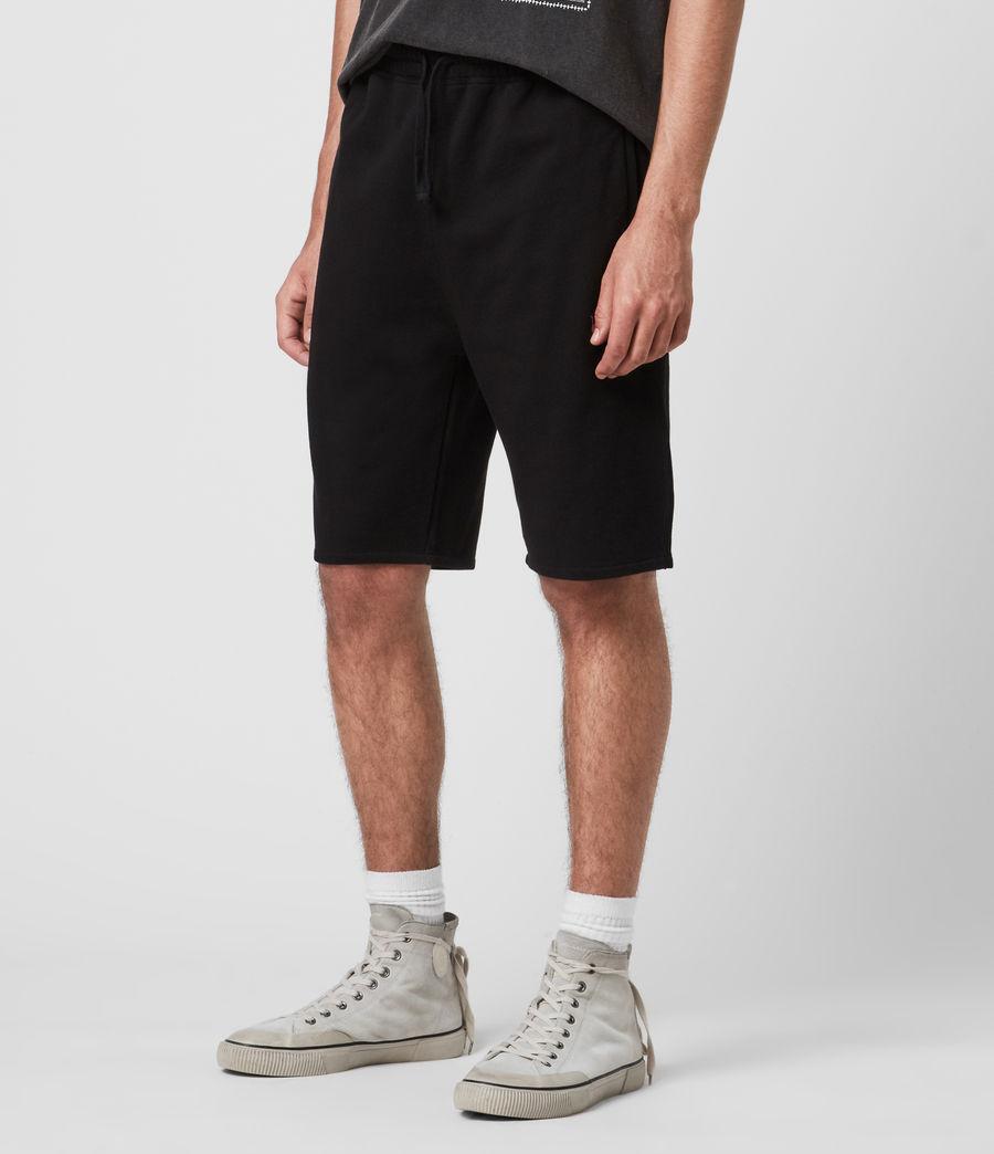 Mens Phoenix Sweat Shorts (jet_black) - Image 4