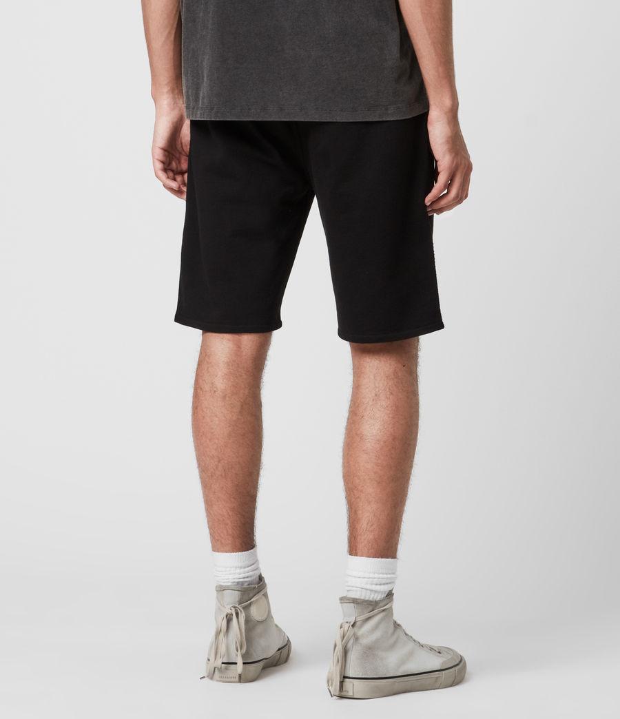 Mens Phoenix Sweat Shorts (jet_black) - Image 6
