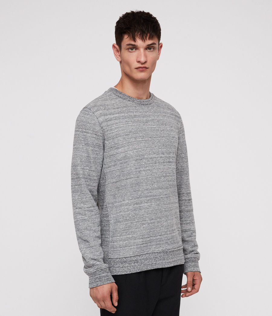 Men's Mind Crew Sweatshirt (grey_mouline) - Image 1
