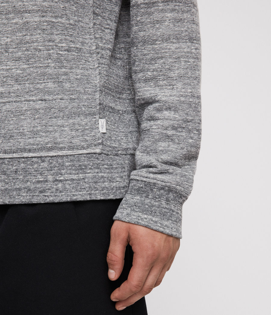 Men's Mind Crew Sweatshirt (grey_mouline) - Image 2