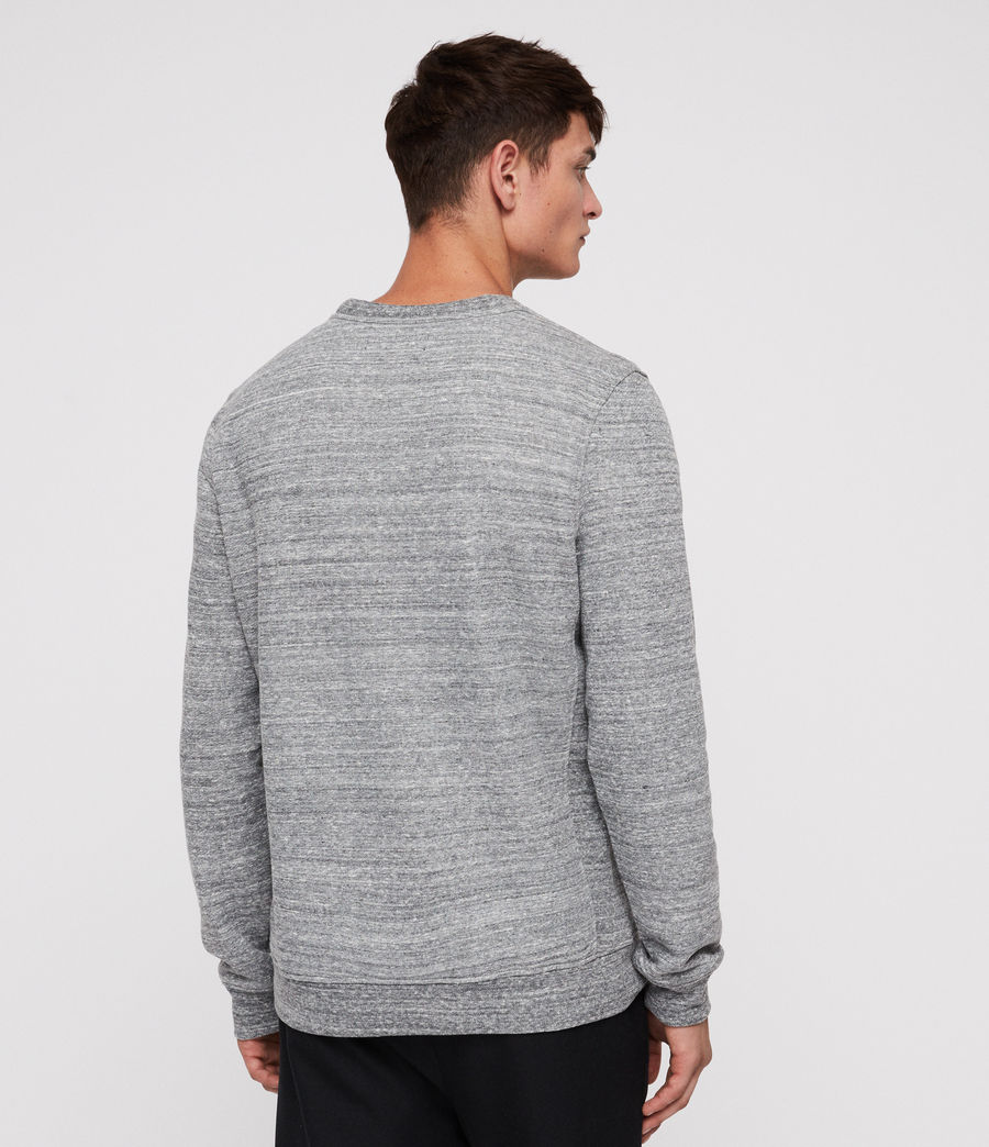Men's Mind Crew Sweatshirt (grey_mouline) - Image 6