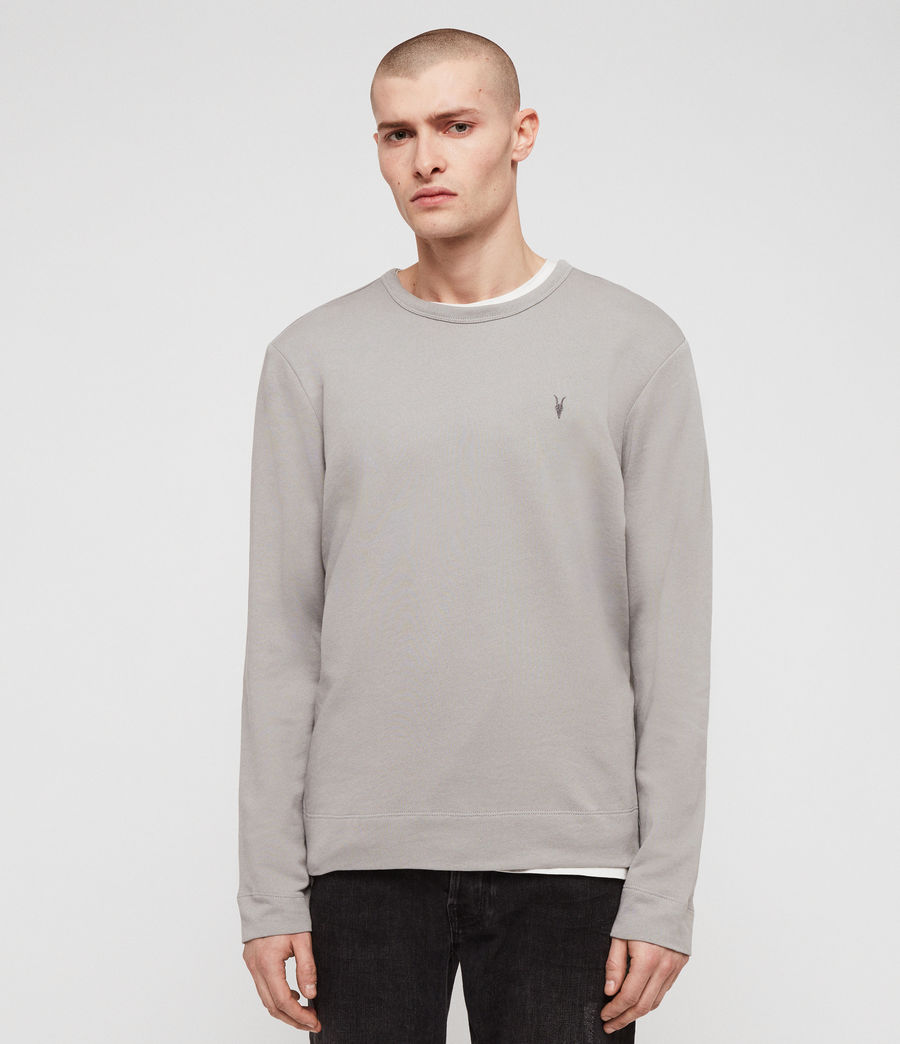 Mens Stan Crew Sweatshirt (putty_grey) - Image 1